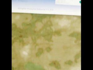 1000D nylon oxford vodotesné kamuflážne PU potiahnuté tkaniny
