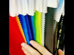 160D vodotesné 10000 mm nylon taslan laminované tricot obloženie tkaniny