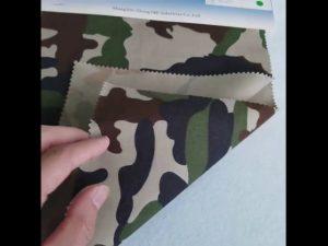 Camouflage vzor 80/20 bavlna polyester twill tkaniny pre vojenskú uniformu