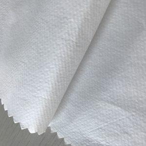 WF1 / O6SO5 SS + PE 65 g / m2 polypropylénová netkaná textília + PE na jednorazové ochranné odevy na lekárske účely