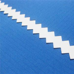 100% polyester dobrej mriežky jacquard pongee tkanina s nepremokavou pu potiahnuté pre bundy alebo športové oblečenie