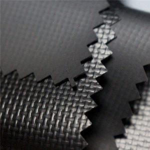 590gsm 0.44mm 1000D * 1000D 20 * 20 Lesklý akýkoľvek Farba PVC potiahnutá polyesterová tkanina plachta Fabric pre obal, kamión, Marquee
