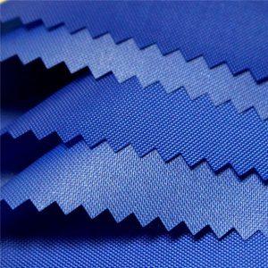 210D polyester mliečna pu vrstva vodotesná Oxford tkanina