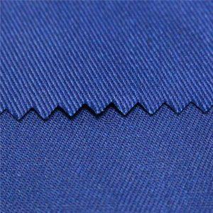 tc polyesterová bavlna hladká a keperová aktívna farbená a digitálna potlač spomaľovania horenia pracovné oblečenie tkanina poplin jednotná tkanina