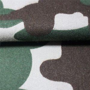 80% bavlna 20% polyesterová nepremokavá keperová tkanina