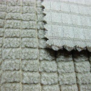 Polyester fleece tkaniny