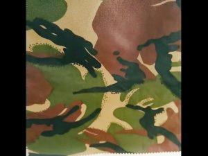 kamufláž tlače nepremokavý ripstop nylon oxford uniformné vojenské tkaniny