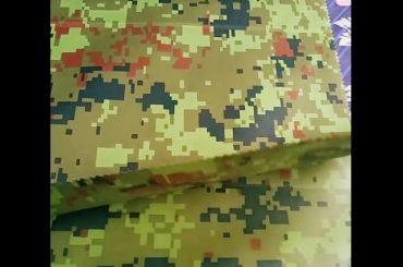Čína výrobca veľkoobchodné maskovanie reliéfne dažďové oblečenie geotextile tkaniny pre vonkajšie tkaniny